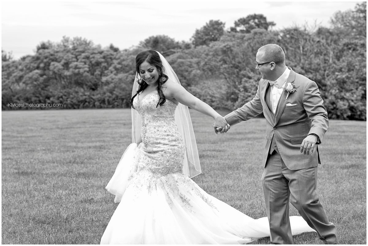 Outdoor Lehigh Valley Bride & Groom | K. Moss Photography