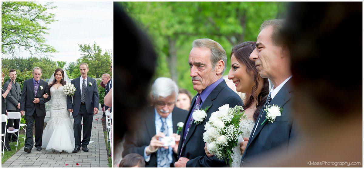 Outdoor Lehigh Valley Wedding Ceremony | K. Moss Photography