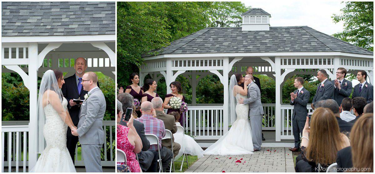 Outdoor Lehigh Valley Wedding Ceremony-Hanover Grand Ballroom-Lehigh Valley Wedding Photographer-Bethlehem PA Wedding Photos | K. Moss Photography