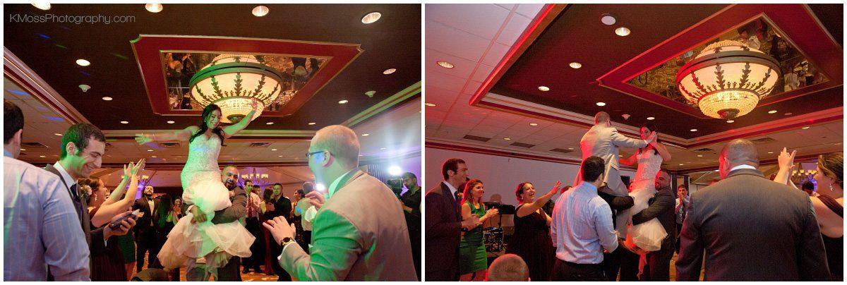 Wedding Reception Uplighting | K. Moss Photography