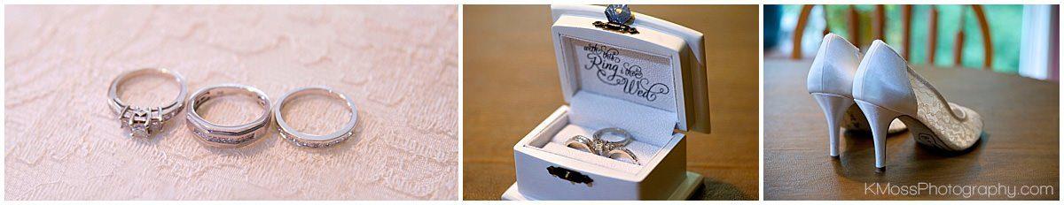 Wedding Rings | K. Moss Photography