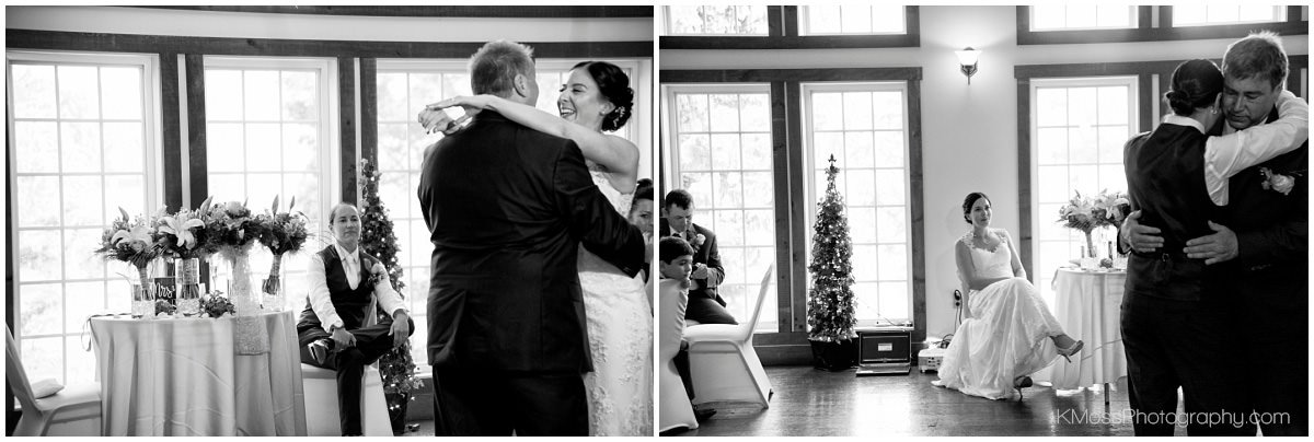 The Barn at Flying Hills Father Daughter dance | K. Moss Photography
