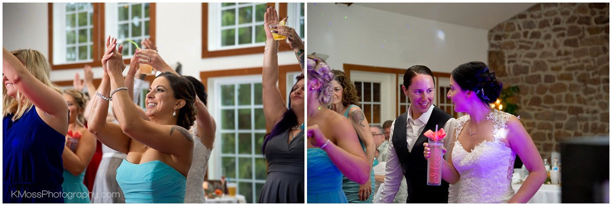 The Barn at Flying Hills Wedding | K. Moss Photography