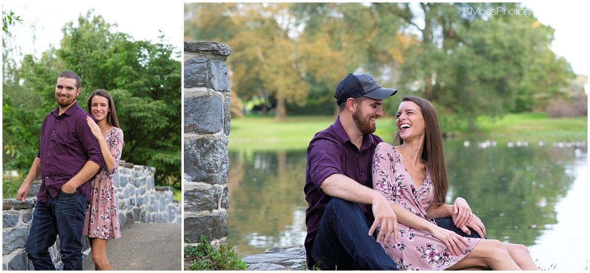 Conrad Weiser Homestead Reading PA Engagement Session | K. Moss Photography